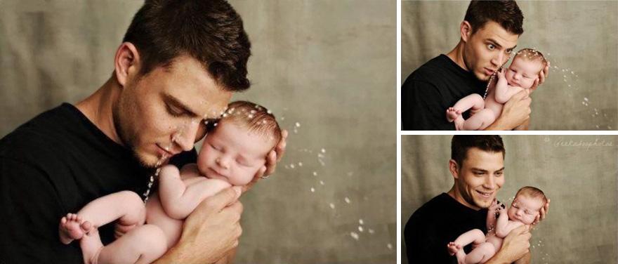 17 detrás de cámaras de las sesiones de fotos de bebés 03