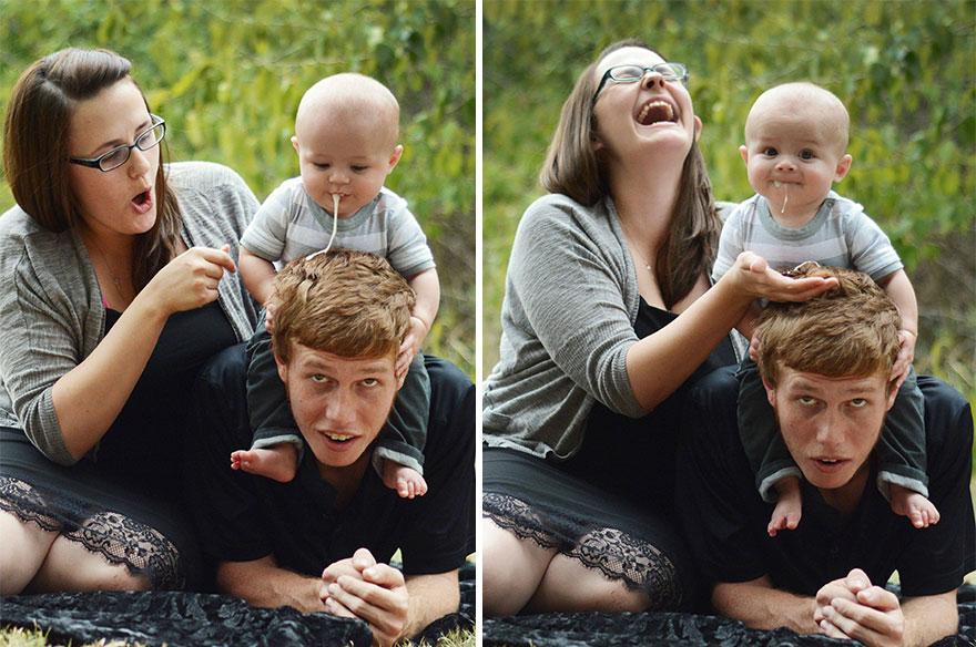 17 detrás de cámaras de las sesiones de fotos de bebés 07