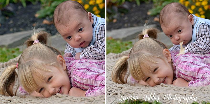 17 detrás de cámaras de las sesiones de fotos de bebés 11