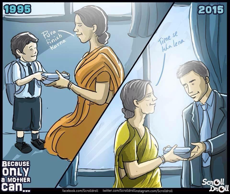 8 Ilustraciones emotivas que nos muestran lo genial que son nuestras madres 02