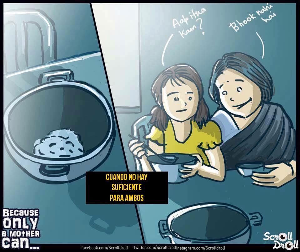 8 Ilustraciones emotivas que nos muestran lo genial que son nuestras madres 03
