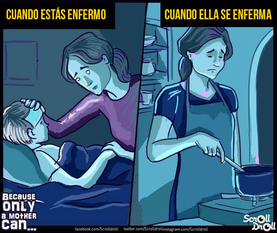 8 Ilustraciones emotivas que nos muestran lo genial que son nuestras madres 04