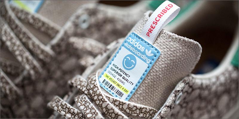 """Adidas lanza nuevas zapatillas """"Happy 420"""" para celebrar el 20 de abril 02"""