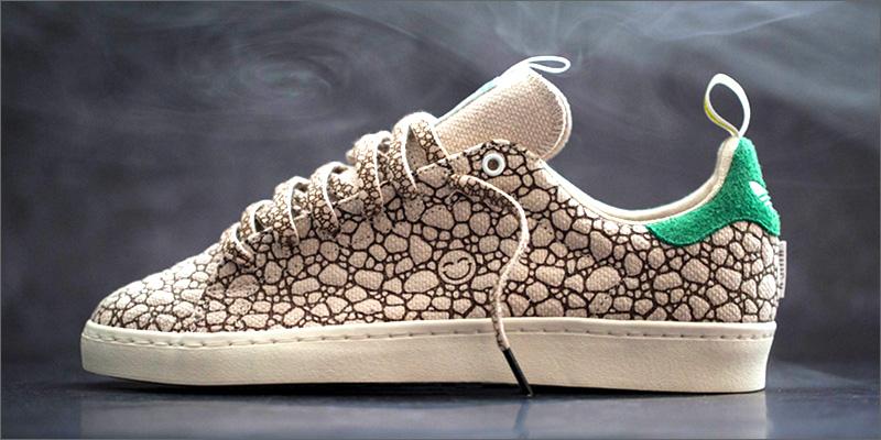 """335ca84a Adidas ha lanzado sus nuevas zapatillas """"Happy 420"""" para celebrar el 20 de  abril, fecha que celebra toda la parafernalia que envuelve al mundo de la  ..."""