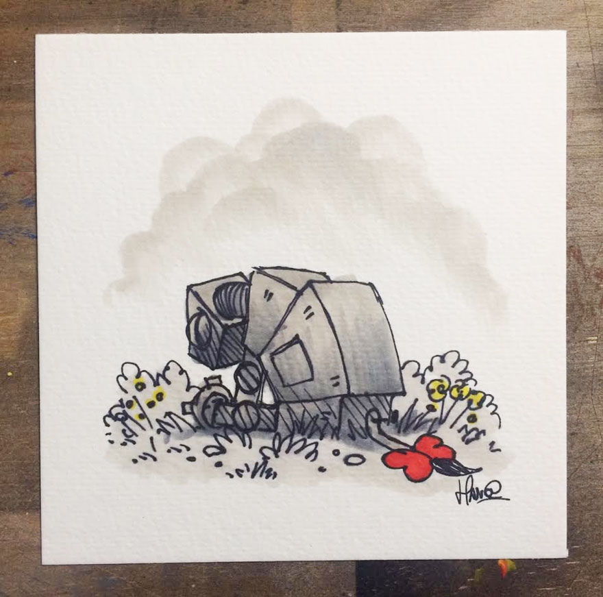 Artista reinterpreta personajes de Star Wars con los Winnie The Pooh 6