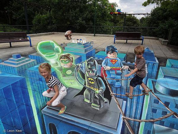 Asombrosos murales que cuestionarán tu perspectiva 2