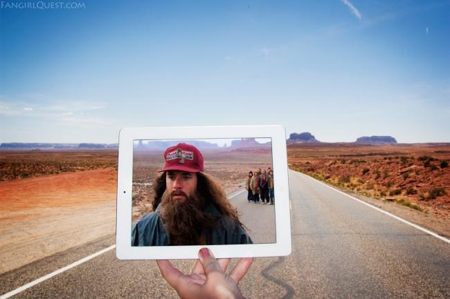 Blogueras fotografían lugares de películas famosas 1
