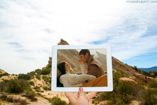 Blogueras fotografían lugares de películas famosas 5