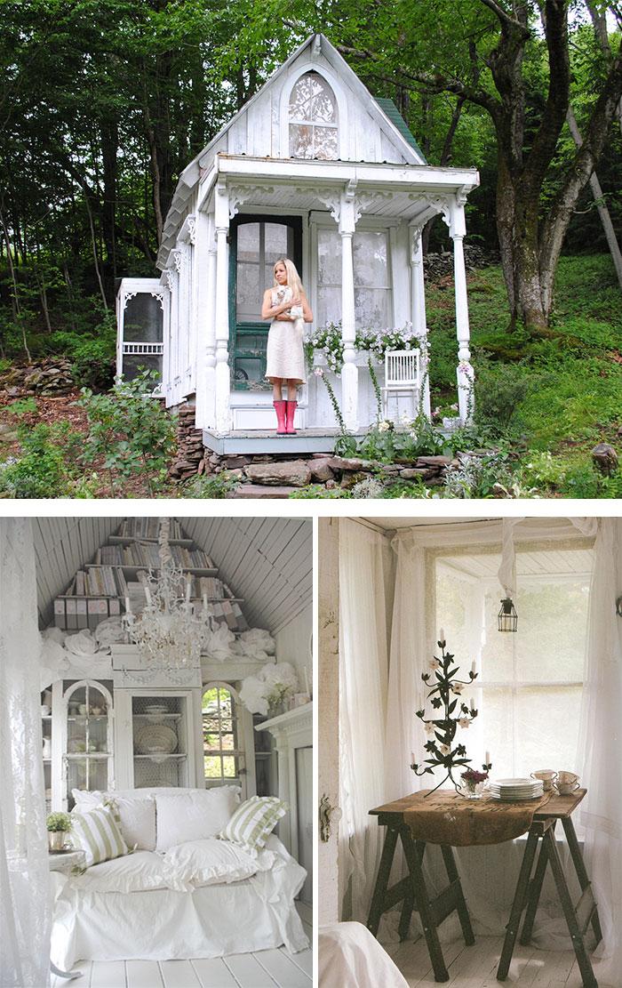 Cobertizos convertidos en hermosos santuarios10