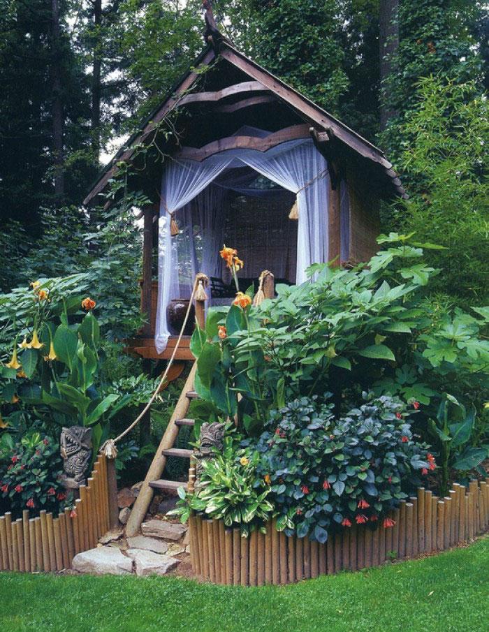 Cobertizos convertidos en hermosos santuarios6