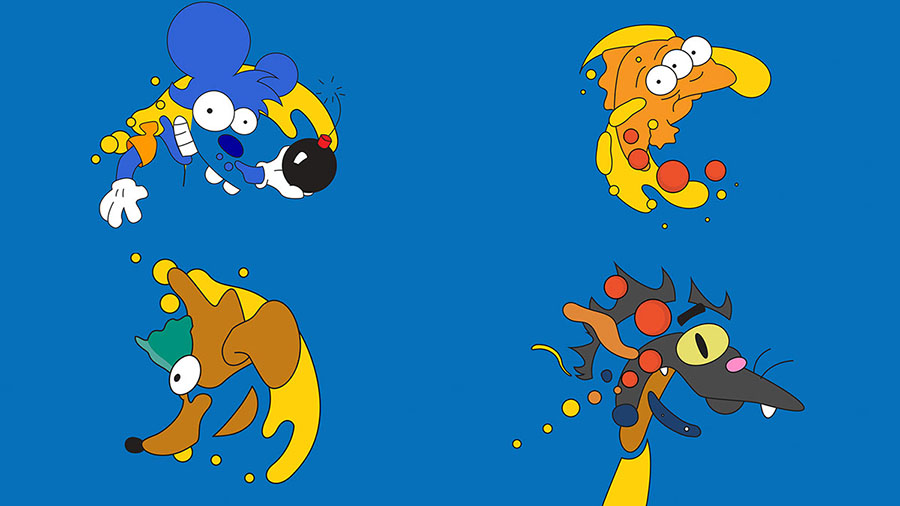 """Conoce la nueva identidad de """"Los Simpson"""" para este 2016 10"""
