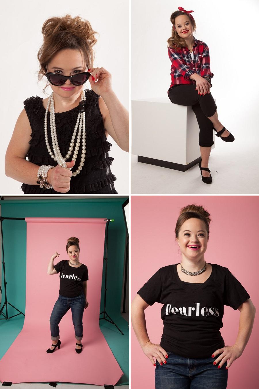 Conocida empresa contrata a una modelo con síndrome de down como su imagen de marca katie meade