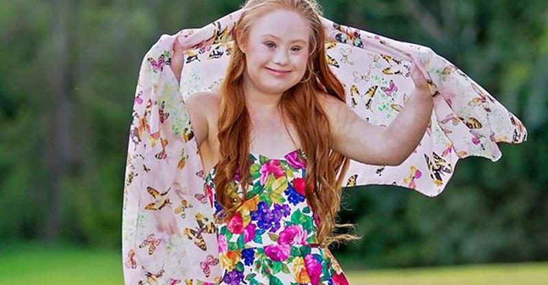 Conocida empresa contrata a una modelo con síndrome de down como su imagen de marca madeline stuart
