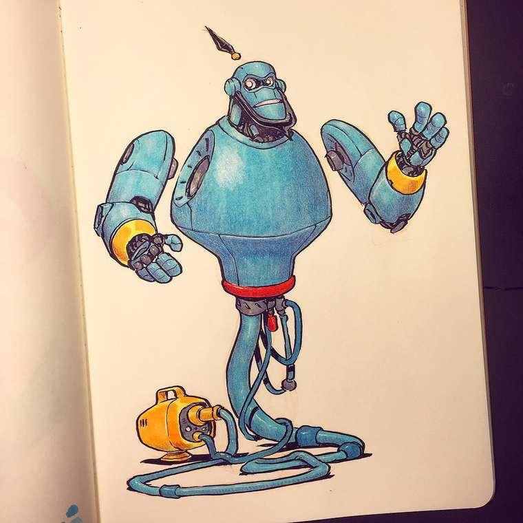 Cuando los íconos de la cultura pop se convierten en robots aladino