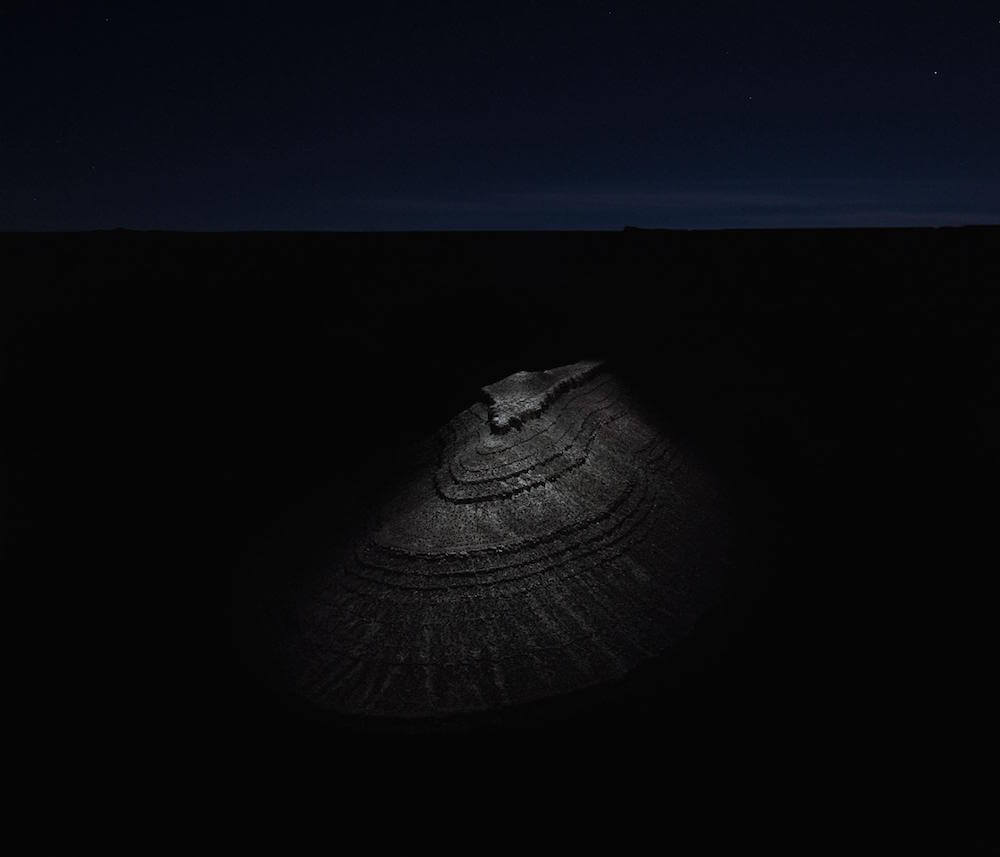 Drones fotografían e iluminan hermosos paisajes de noche8