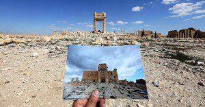 El antes y el después de importantes monumentos de Siria destruidos por ISIS