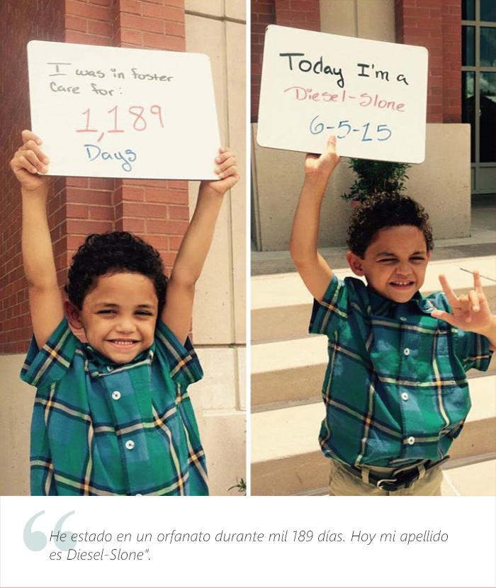 Estos adorables niños tienen una muy buena que dar. Fueron adoptados 19