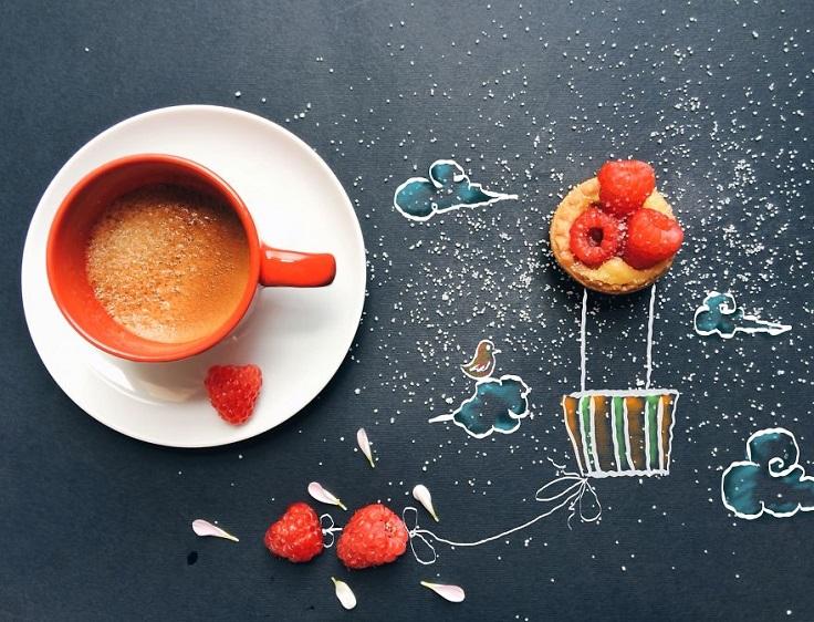 Ilustraciones llenas de sabor que les abrirá el apetito para crear 04