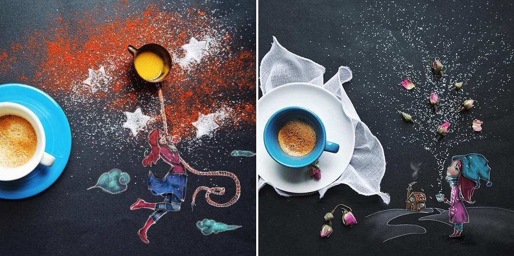 Ilustraciones llenas de sabor que les abrirá el apetito para crear 06