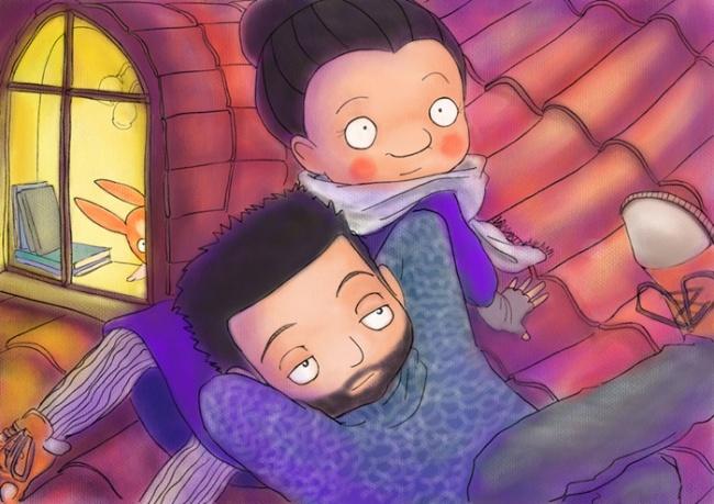 Ilustraciones retratan cómo es vivir con una persona creativa 11