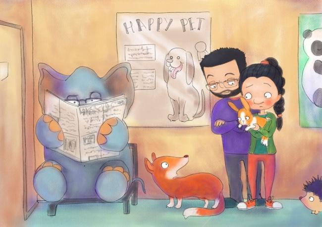 Ilustraciones retratan cómo es vivir con una persona creativa 7