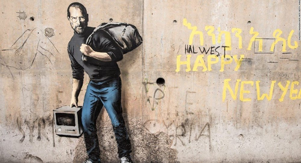 La Identidad de Banksy habría quedado revelada 06