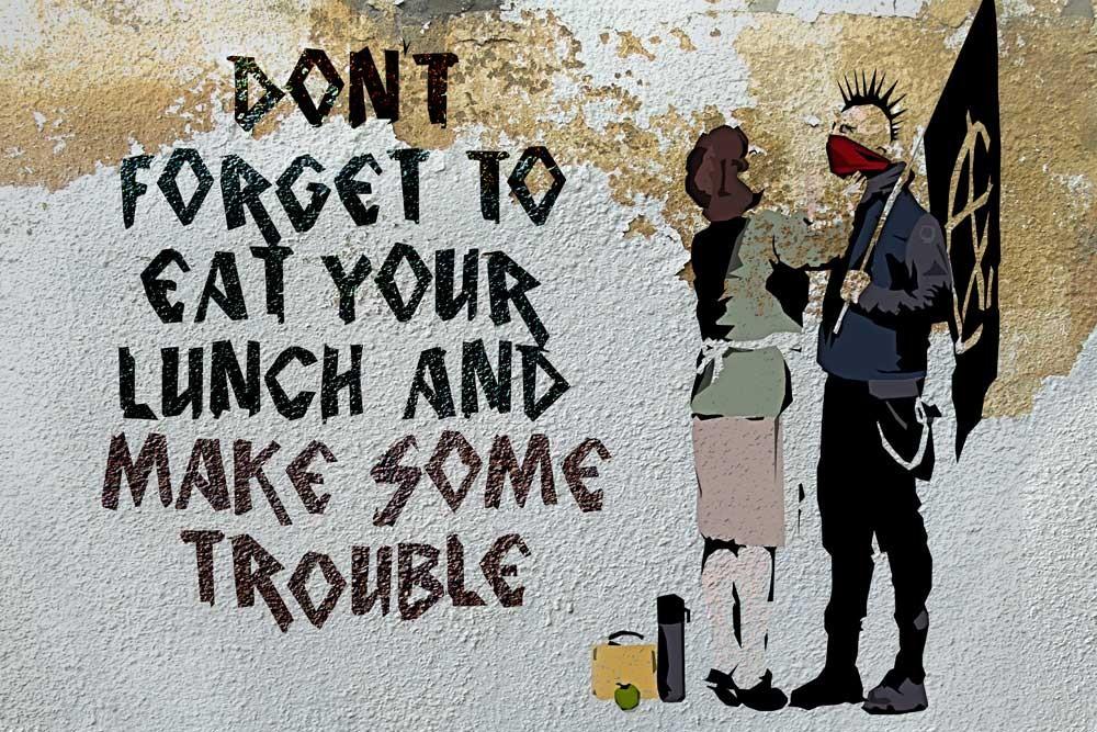 La Identidad de Banksy habría quedado revelada 10
