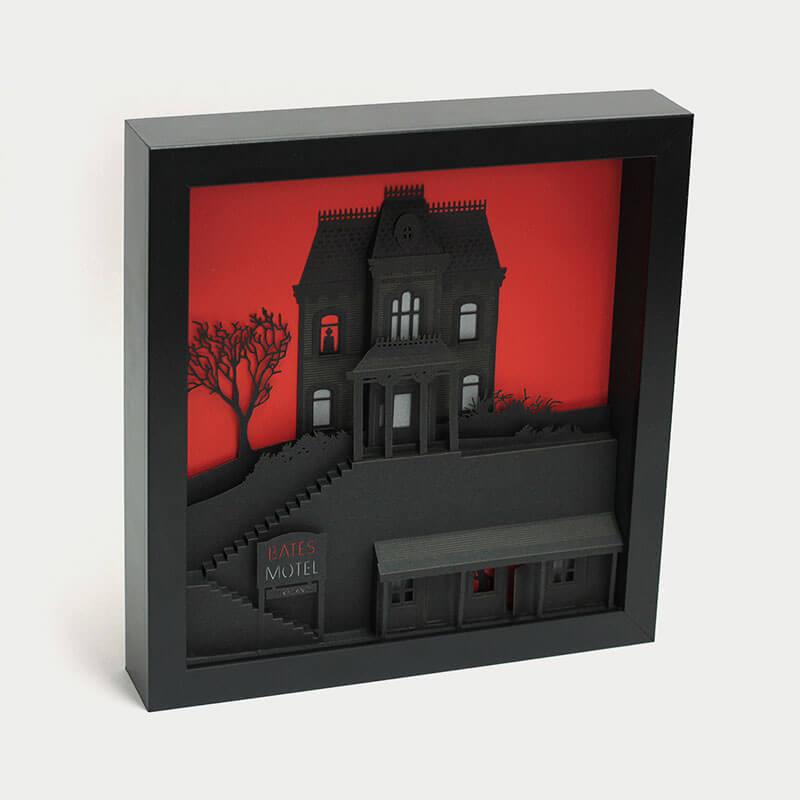 Maquetas hechas de papel recrean icónicas escenas de películas 4