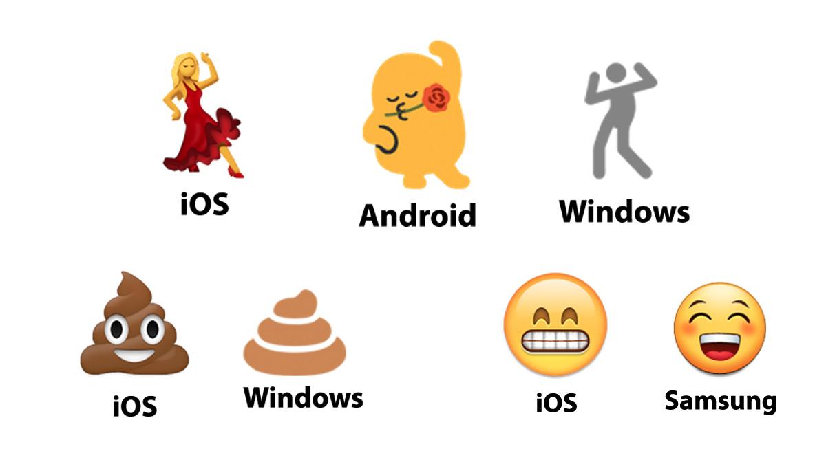 Mira como lucen los diferentes emojis en los teléfonos de tus amigos 1