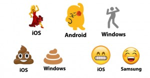 Mira cómo lucen los diferentes Emojis en los teléfonos de tus amigos