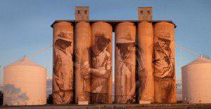 Mural le devuelve la vida a pueblo abandonado en Australia