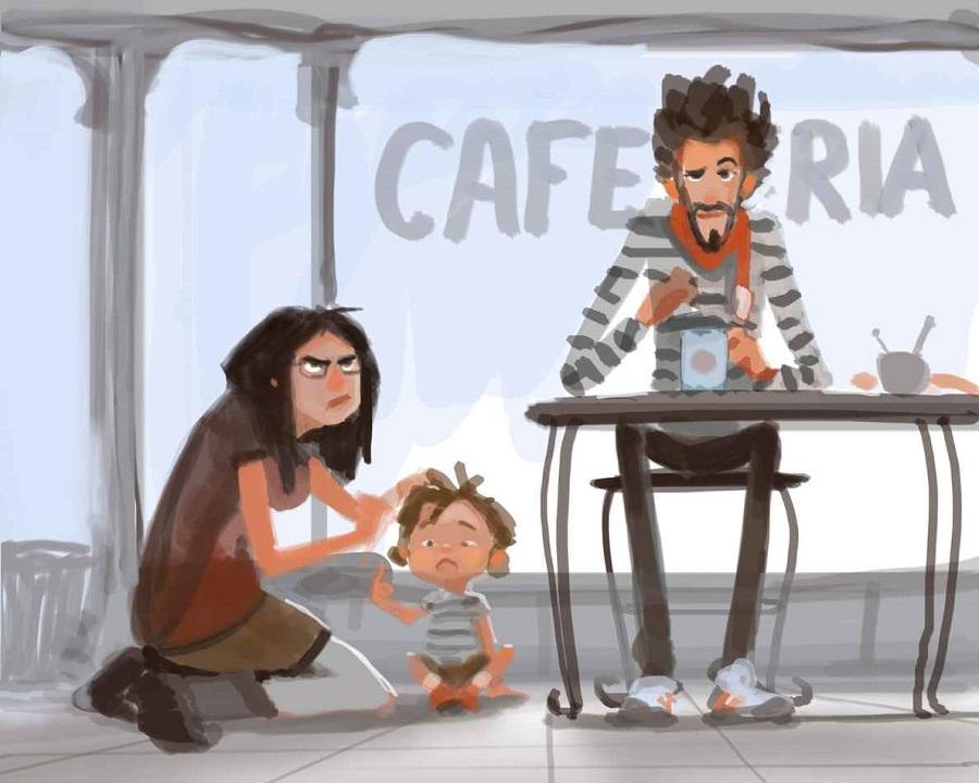 No hay nada mejor que ser padres y estas ilustraciones lo demostrarán 03
