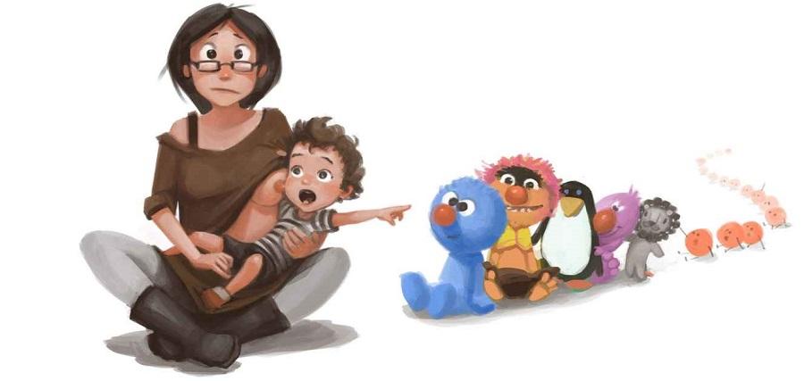 No hay nada mejor que ser padres y estas ilustraciones lo demostrarán 04