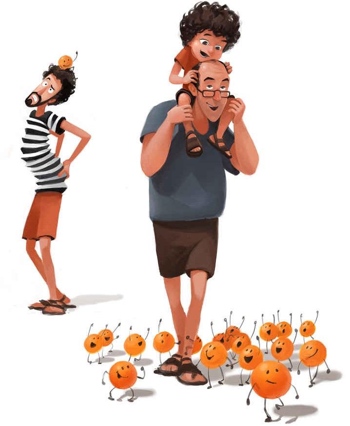 No hay nada mejor que ser padres y estas ilustraciones lo demostrarán 13