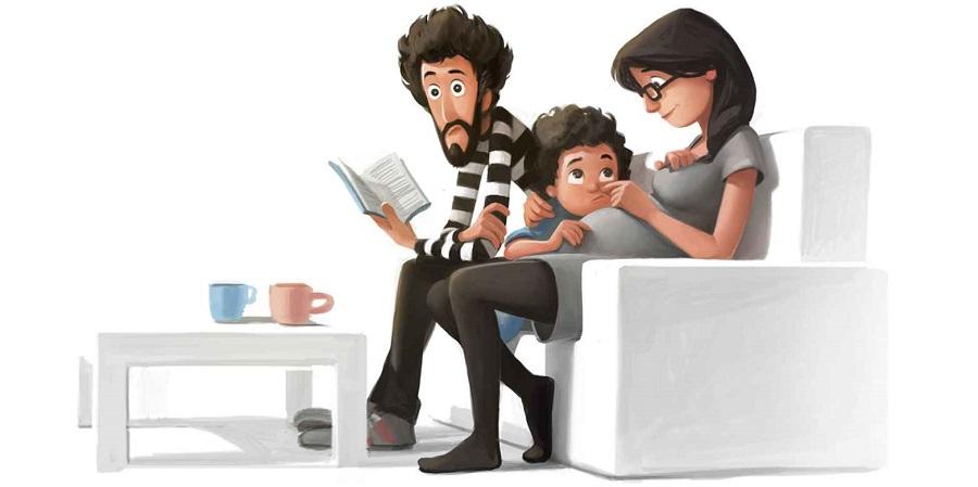 No hay nada mejor que ser padres y estas ilustraciones lo demostrarán 23