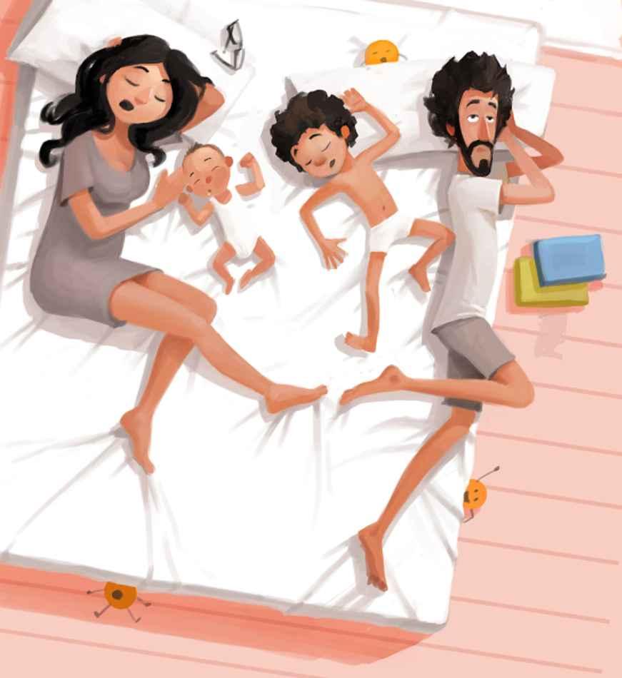 No hay nada mejor que ser padres y estas ilustraciones lo demostrarán 28