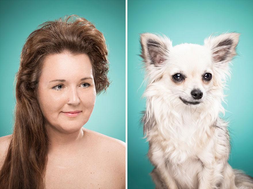 Perros que lucen iguales a sus dueños 11
