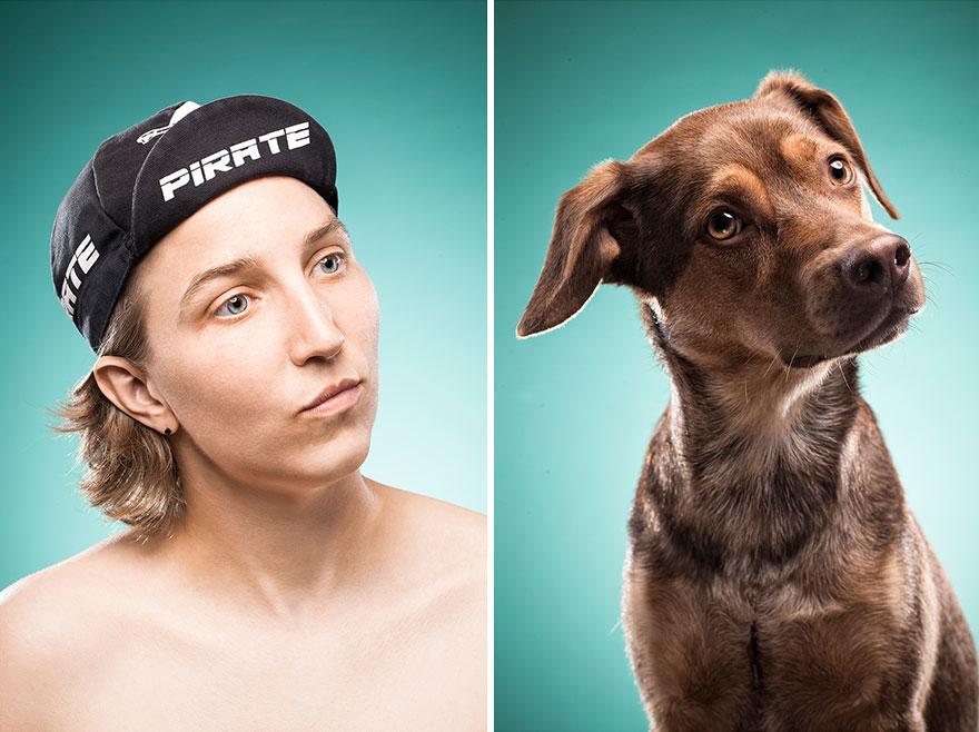Perros que lucen iguales a sus dueños 13