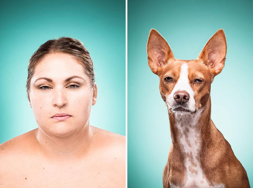 Perros que lucen iguales a sus dueños 15