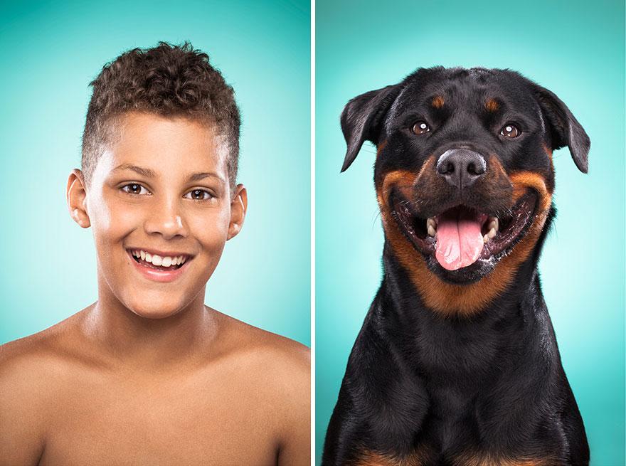 Perros que lucen iguales a sus dueños 19