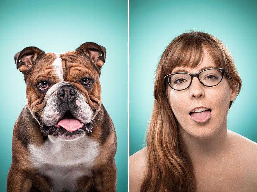 Perros que lucen iguales a sus dueños 20