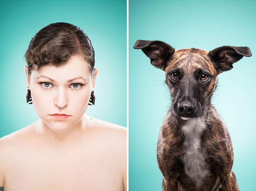 Perros que lucen iguales a sus dueños 21