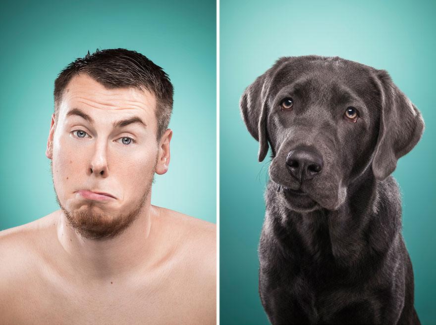 Perros que lucen iguales a sus dueños 23
