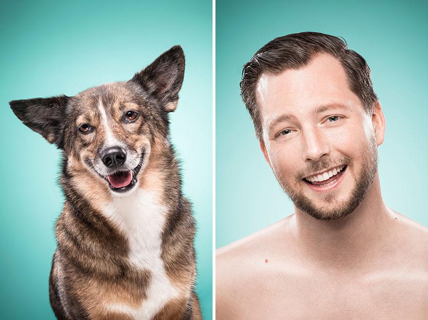 Perros que lucen iguales a sus dueños 24