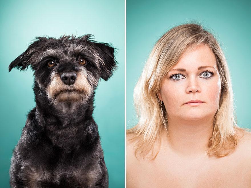 Perros que lucen iguales a sus dueños 25