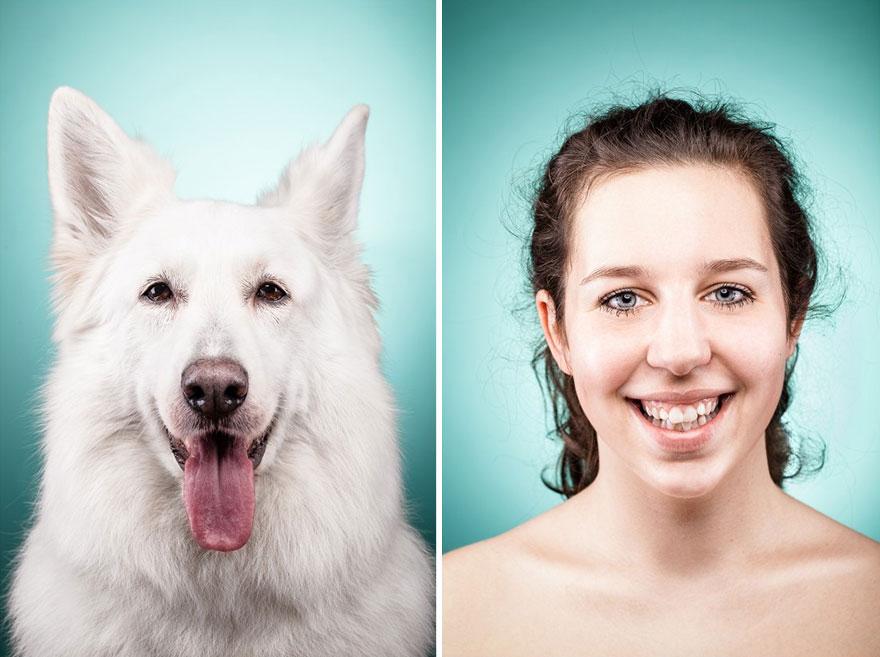 Perros que lucen iguales a sus dueños 26
