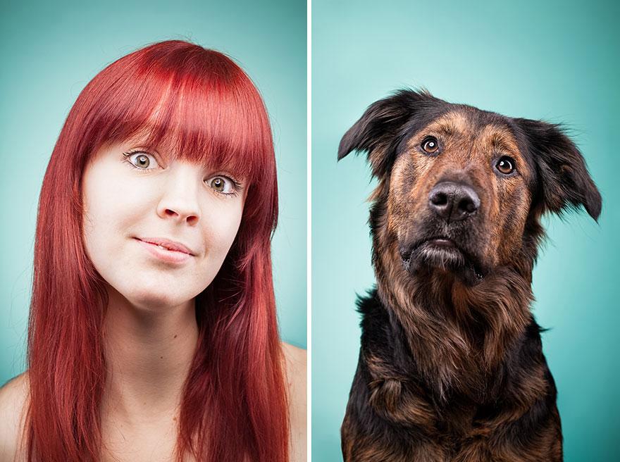 Perros que lucen iguales a sus dueños 5