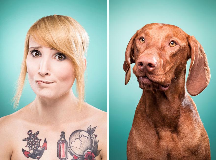 Perros que lucen iguales a sus dueños 9