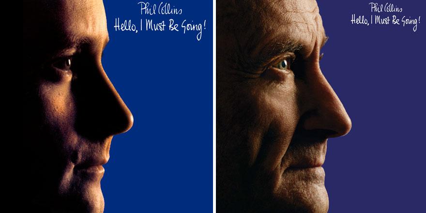 Phil Collins recrea todas las portadas de sus discos para su nuevo proyecto 002