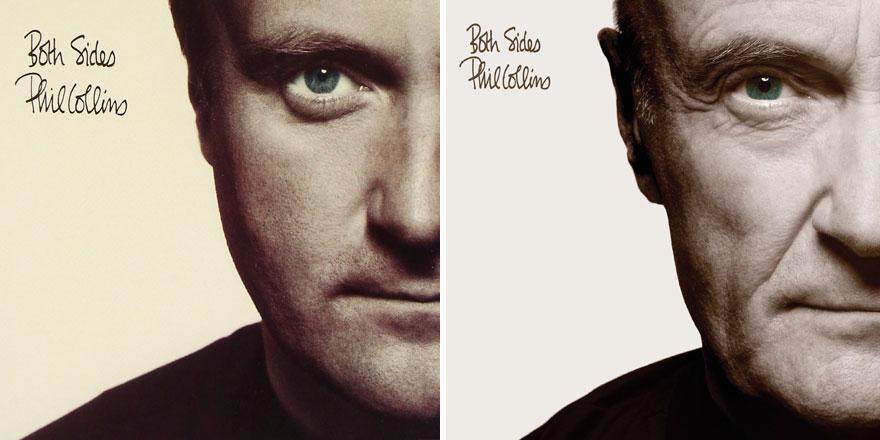 Phil Collins recrea todas las portadas de sus discos para su nuevo proyecto 004